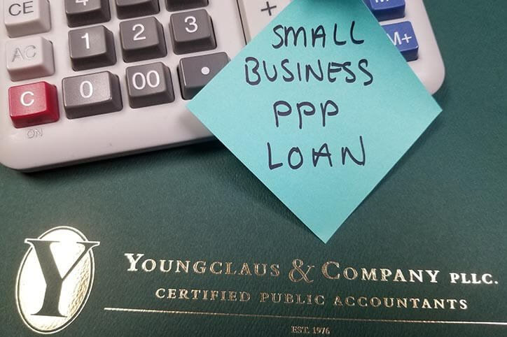 PPP loan note on binder - top certified public accountants services in seacoast n.h.