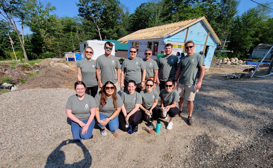 building houses work 2021 - top certified public accountants in seacoast NH community service 01
