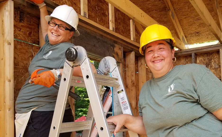 building houses work 2021 - top certified public accountants in seacoast NH community service 03