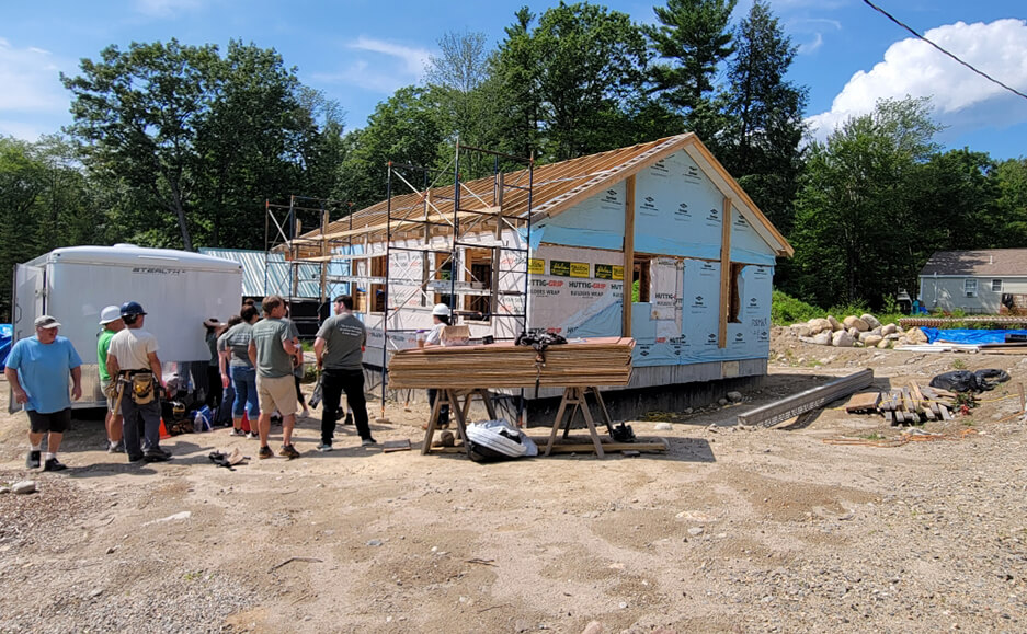 building houses work 2021 - top certified public accountants in seacoast NH community service 05