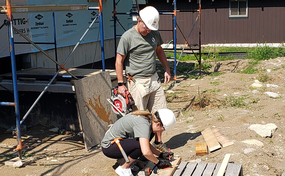 building houses work 2021 - top certified public accountants in seacoast NH community service 07