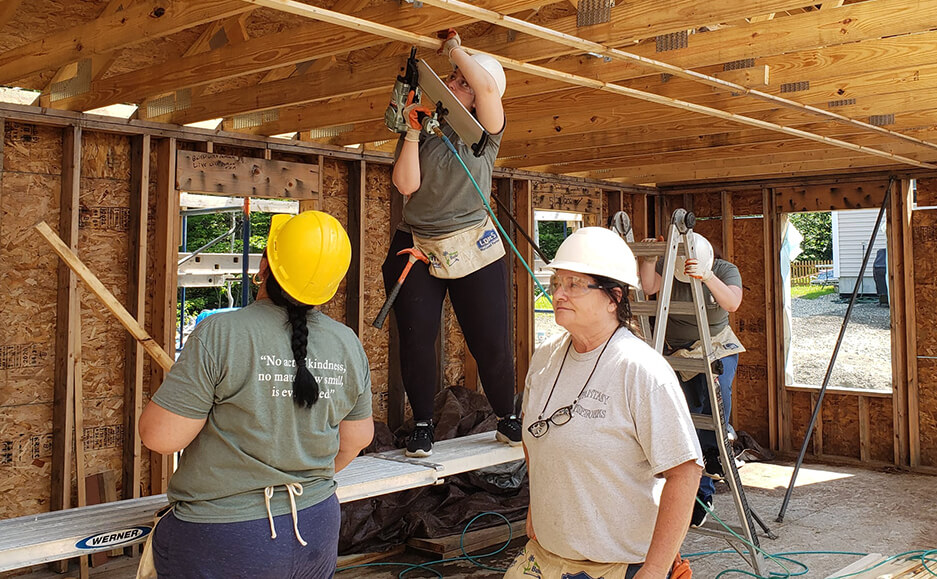building houses work 2021 - top certified public accountants in seacoast NH community service 08