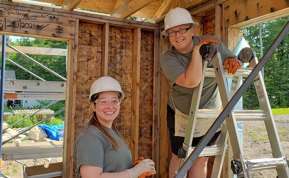 building houses work 2021 - top certified public accountants in seacoast NH community service 09