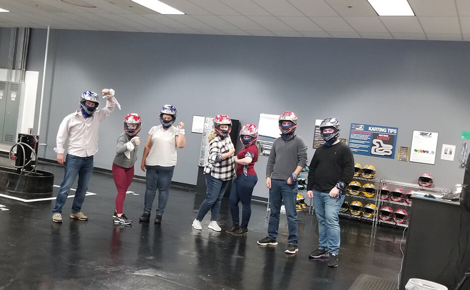kart team trip photos - top accountants in nh and greater portsmouth area team 02
