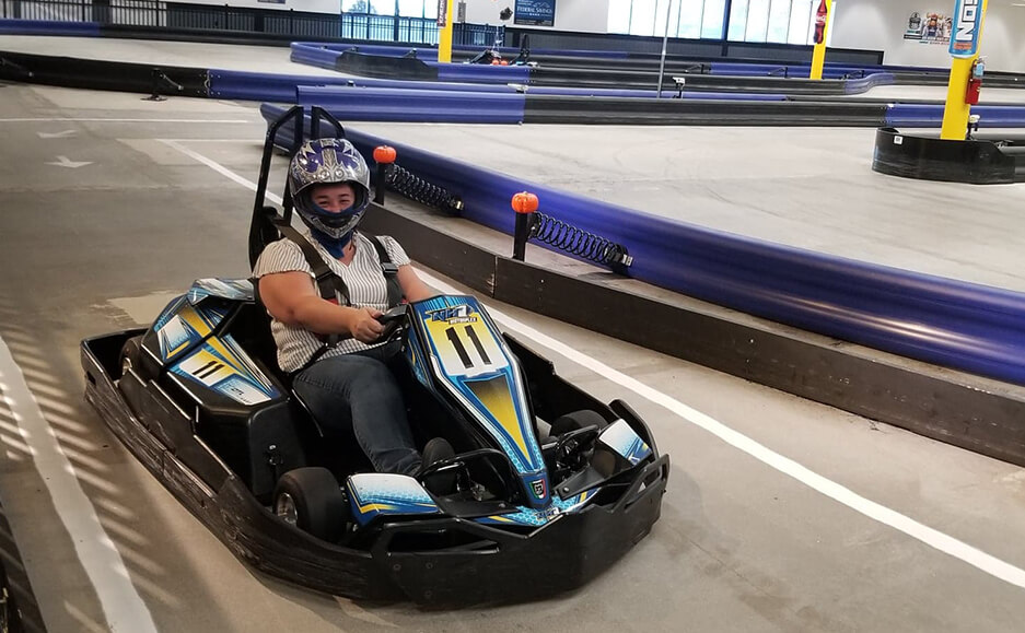 kart team trip photos - top accountants in nh and greater portsmouth area team 07