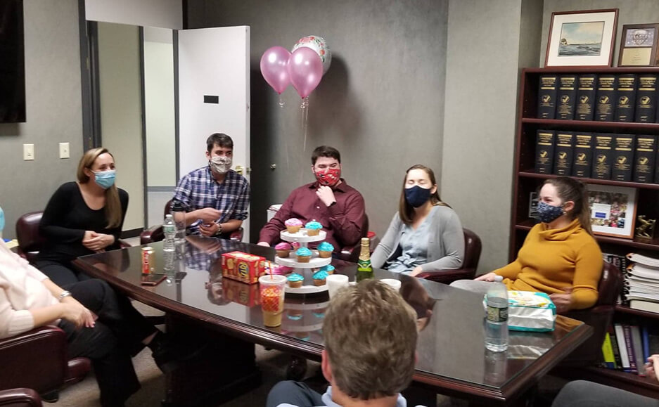 gender reveal party photos - north hampton nh professional accounting team 02
